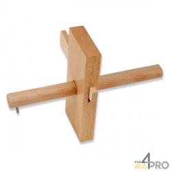 Gramil de madera 17,5 cm