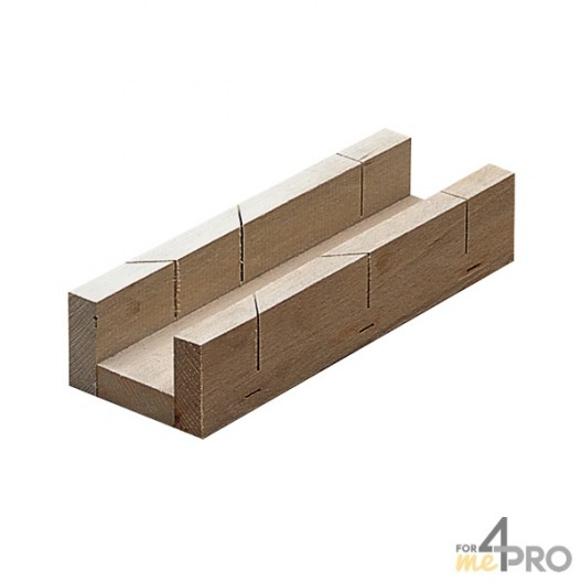 Caja de ingletes de carpintero 5x25x3,8 cm