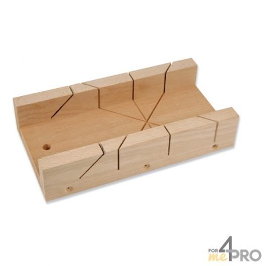 Caja de ingletes de carpintero 12x35x6 cm