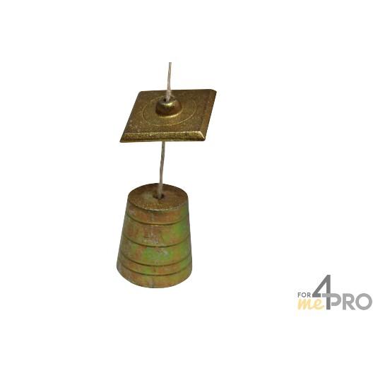 Plomada forma tronco de cono 5,5 cm - Ø50 mm
