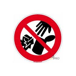 Señal prohibido tirar basura
