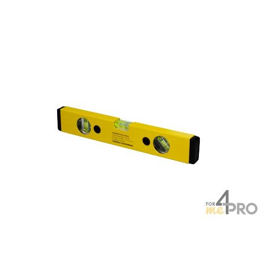 Nivel de perfil de aluminio amarillo 30 cm