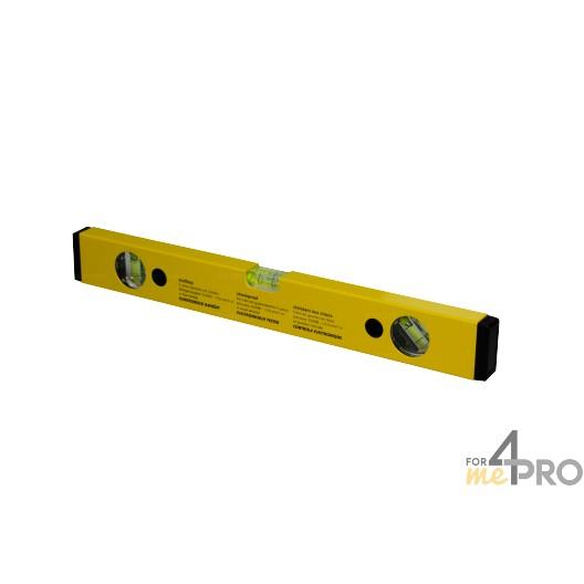 Nivel de perfil de aluminio amarillo 40 cm