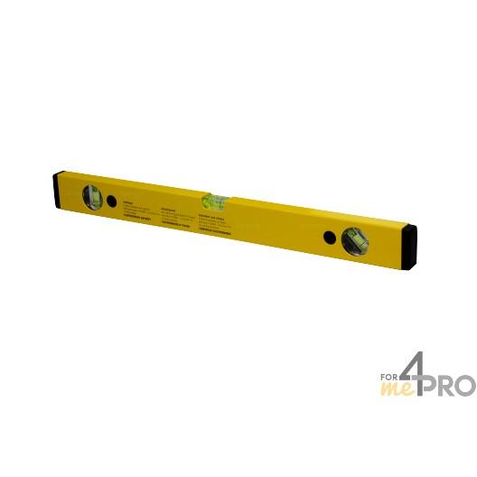 Nivel de perfil de aluminio amarillo 50 cm