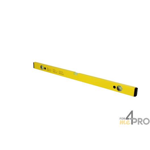 Nivel de perfil de aluminio amarillo 80 cm