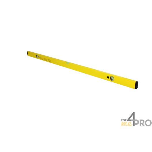Nivel de perfil de aluminio amarillo 1,20 m