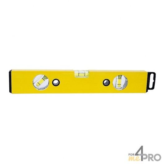 Nivel de perfil de aluminio amarillo 1,50 m