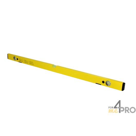 Nivel de perfil de aluminio amarillo magnético 1 m