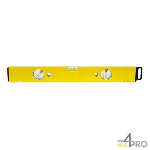 Nivel de perfil de aluminio amarillo magnético 2 m