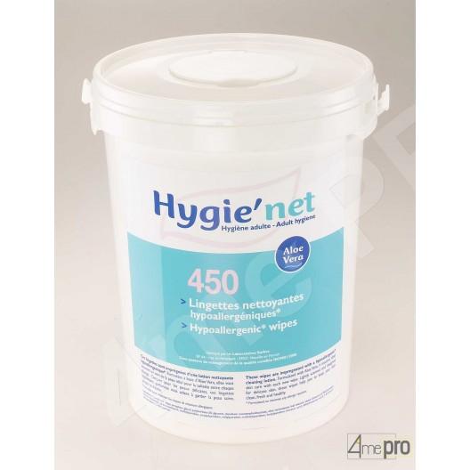 Toallitas limpiadores hipoalergénicas x450