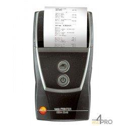 Impresora portátil con interfaz por infrarrojos