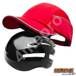 Gorra de seguridad Todas estaciones roja NF EN812 A1
