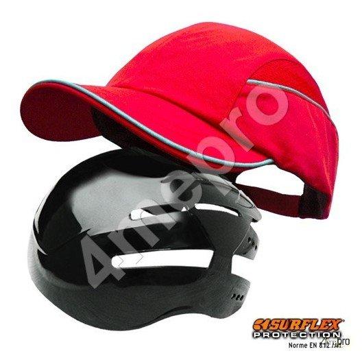 Gorra de seguridad todas estaciones roja nf en812 a1 4mepro - Gorra de seguridad ...