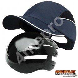 Gorra de seguridad Todas estaciones azul marino NF EN812 A1