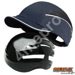 Gorra de seguridad Top short azul marino NF EN812 A1
