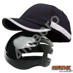 Gorra de seguridad Invierno negra NF EN812 A1
