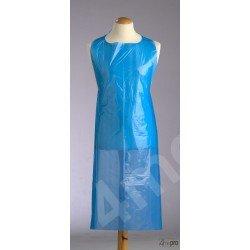 Delantal de polietileno multiuso 69 x 122 cm azul
