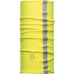 Cinta multifunción de protección reflectante Buff Dry Cool amarilla - Contra el calor y el polvo