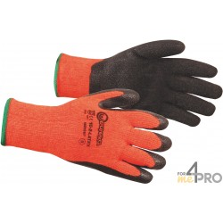 Guante anticorte látex Invierno - Norma EN388 - 2242 CE CAT 2