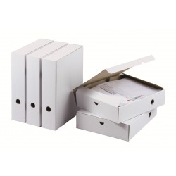 Cajas Archivo con clip A4 25,5 x 7,1 x 31 cm