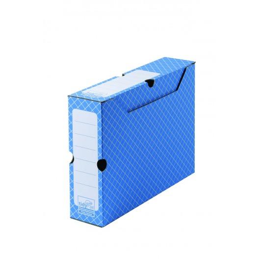 Cajas Archivo gris 32,2 x 7,8 x 24,9 cm