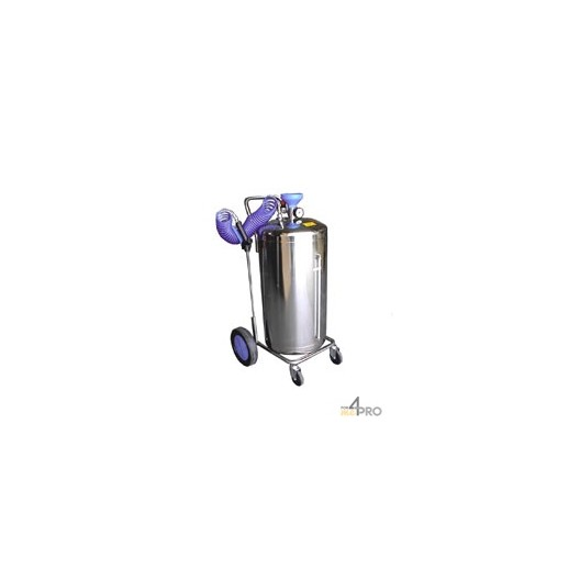 Pulverizador Spray-matic 100 l de acero inoxidable