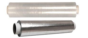 Films alimentarios y rollos de aluminio