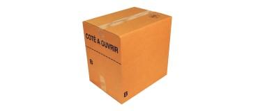 Caja de cartón paletizable para la venta a distancia