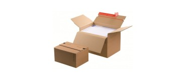 Cajas de cartón de altura variable