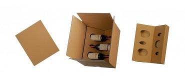 Cajas de expedición para botellas
